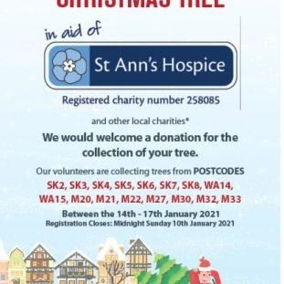 St Ann's Hospice - Tree advert collection